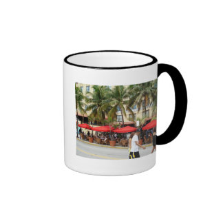 Welcome to South Beach Ringer Coffee Mug