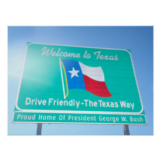 Welcome To Texas! Poster