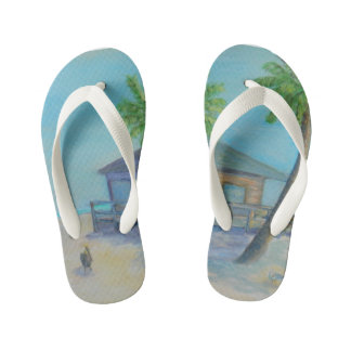WELCOME TO THE BEACH Flip Flops