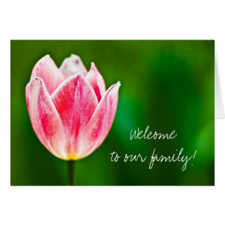 Welcome to the Family Greeting Card
