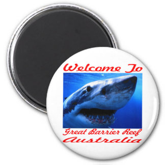 Welcome To The Great Barrier Reef Shark Magnets