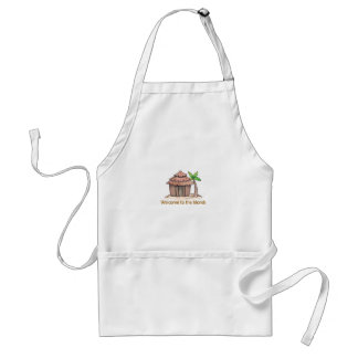 Welcome to the island standard apron