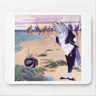 Welcome to the Lobster Quadrille Mouse Pad