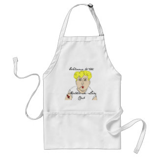 Welcome to the Mother in Law Club Standard Apron