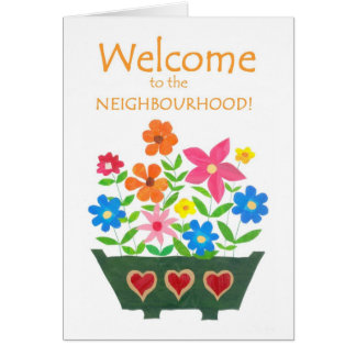 Welcome to the Neighbourhood Card