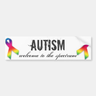 Welcome to the Spectrum bumper sticker