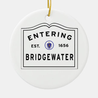 Welcome to the Town of BRIDGEWATER MA Christmas Ornament