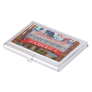 Welcome to the USA Business Card Case