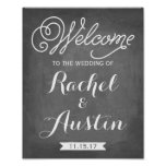 Welcome To The Wedding Sign | Wedding Decor