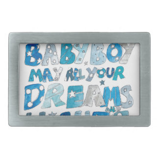 Welcome To The World Baby Boy Belt Buckle