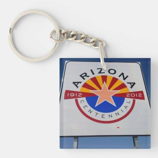 Welcome to Utah and Arizona Key Chain