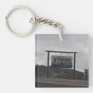 Welcome to Utah and Wyoming Key Chain