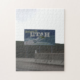 Welcome to Utah Jigsaw Puzzle