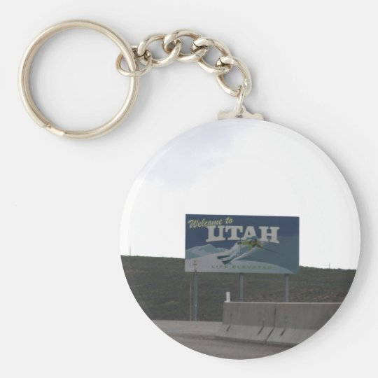 Welcome to Utah Key Chain
