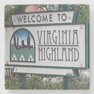 Welcome to Virginia Highland Marble Stone Coaster. Stone Coaster