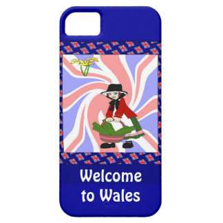 Welcome to Wales iPhone 5 Cover