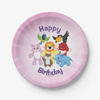 Welcome to Webkinz! 7 Inch Paper Plate