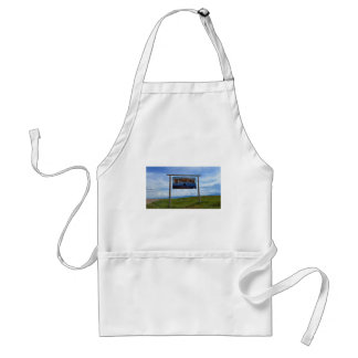 Welcome to Wyoming Adult Apron