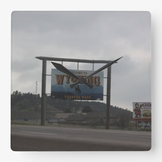 Welcome to Wyoming Clock