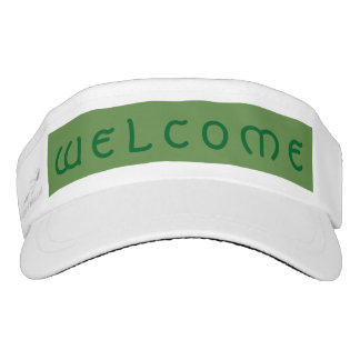 Welcome Visor