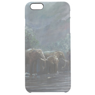 Welcome Waters 1990 Clear iPhone 6 Plus Case