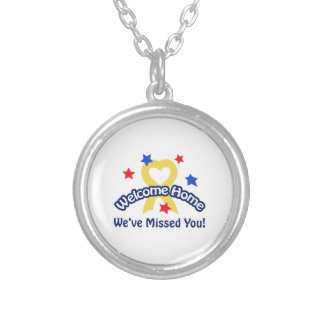 WELCOME WEVE MISSED YOU PERSONALIZED NECKLACE