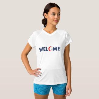 welcome women's t T-Shirt
