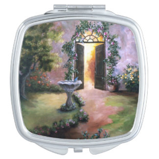 Welcoming Light Compact Mirror