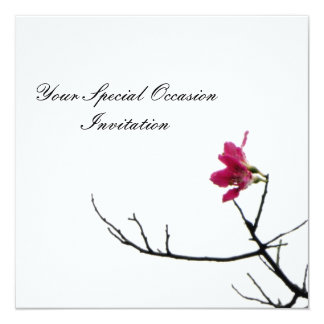 Welcoming Spring/ Oriental Zen All-Occasion Flora Personalized Invitation