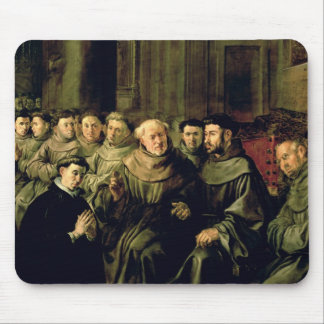 Welcoming St. Bonaventure into the Franciscan Mouse Pad