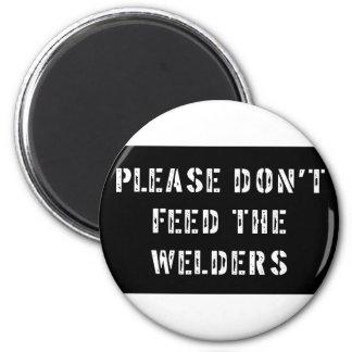 Welder 6 Cm Round Magnet