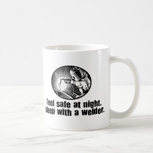 Welder Basic White Mug