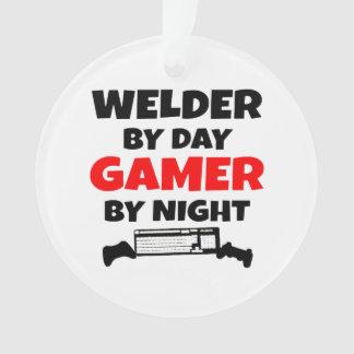 Welder by Day Gamer by Night Ornament