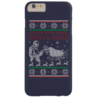 Welder Christmas Barely There iPhone 6 Plus Case