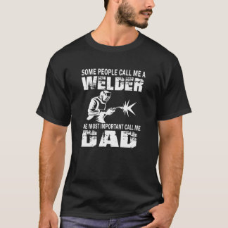 WELDER DAD T-Shirt