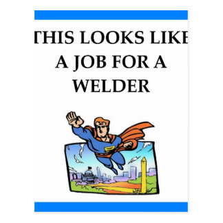 WELDER POSTCARD