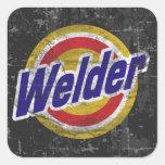 Welder Square Sticker