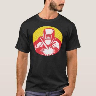welder welding  worker retro T-Shirt