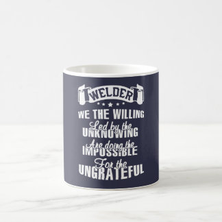 WELDER What I Do Coffee Mug