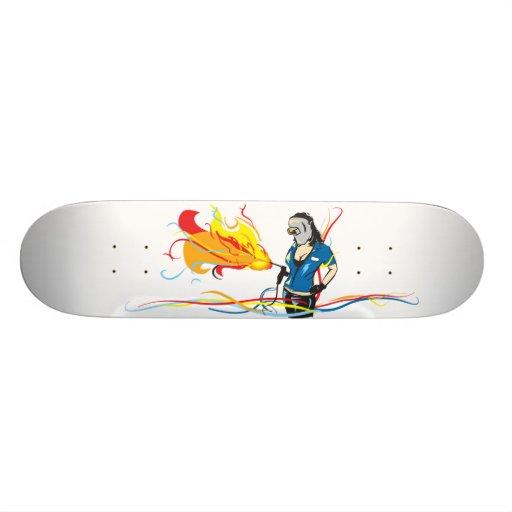 Welder Woman Skateboard Decks