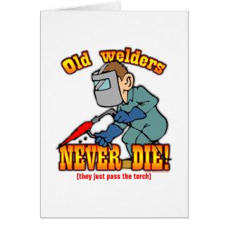 Welders Greeting Card