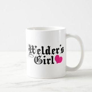 Welder's Girl Basic White Mug