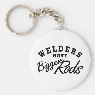 Welders Have... Basic Round Button Key Ring