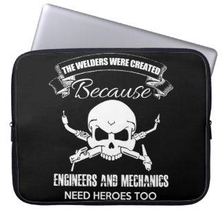 welders heroes Neoprene Laptop Sleeve