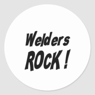 Welders Rock! Sticker
