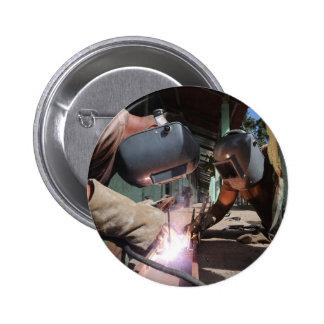 Welding 6 Cm Round Badge