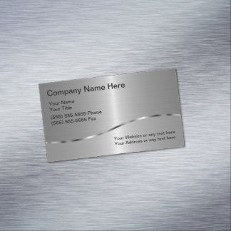 Welding Business Card Magnet