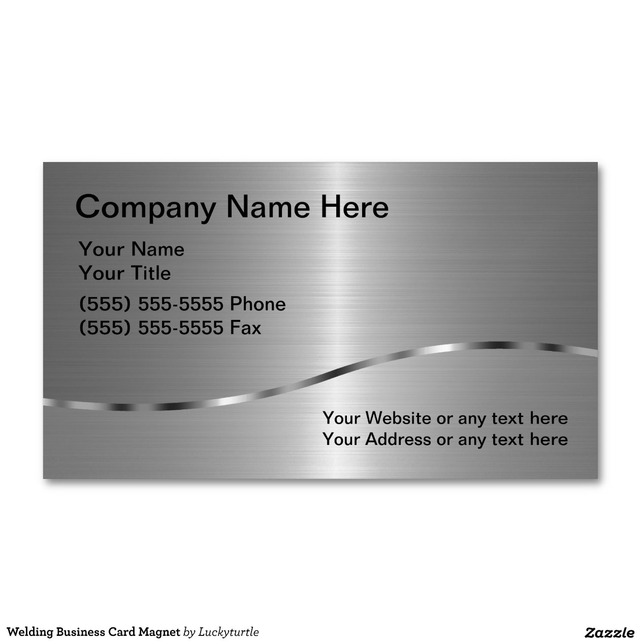 Welding Business Card Magnet Magnetic Business Cards