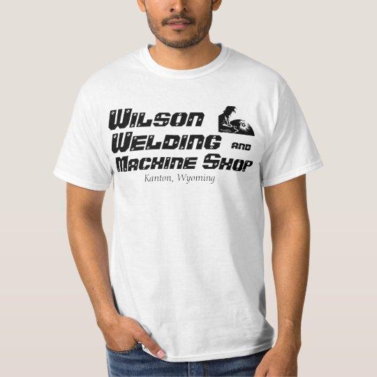 Welding, Machine Shop T-shirt