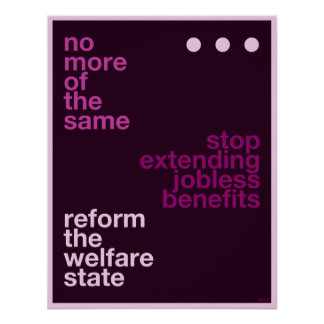 Welfare Reform Print